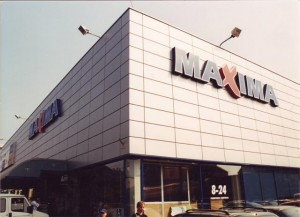 Darbas Maximoje