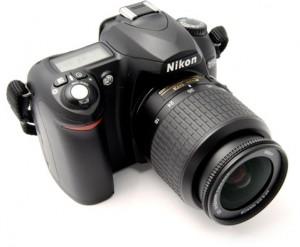 Veidrodinis fotoaparatas Nikon